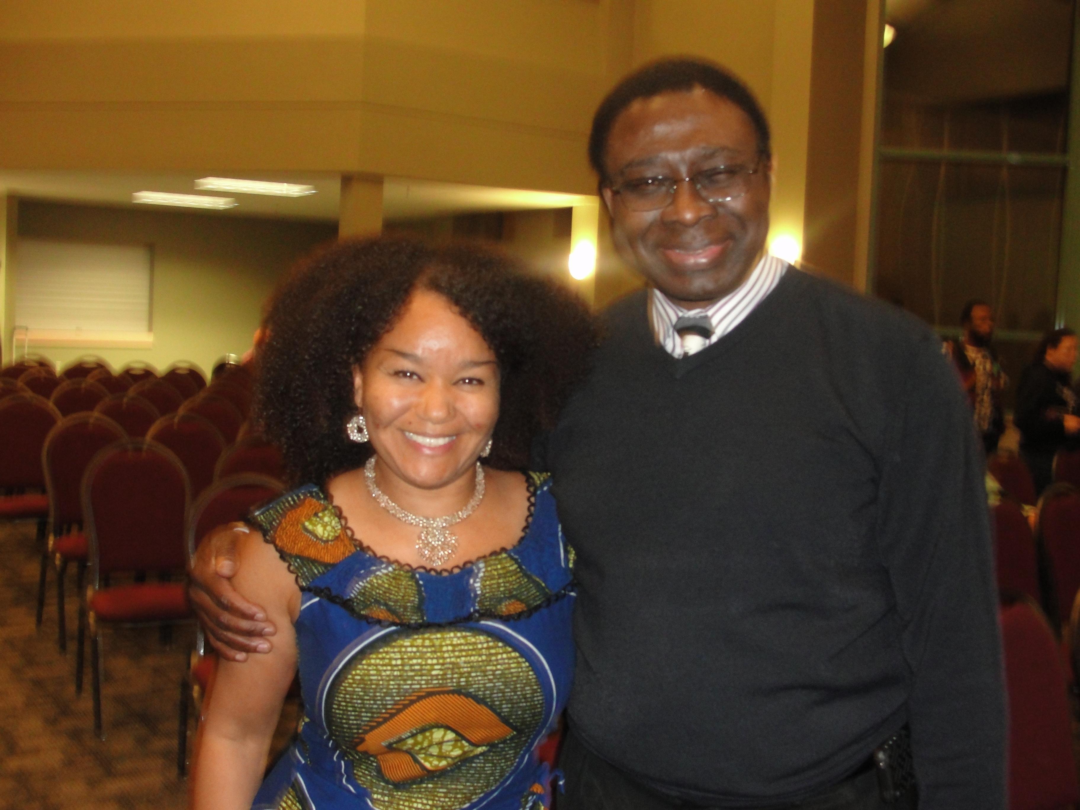 Professor Tom and Nina Smart
